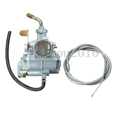 Carburetor Carb + Throttle Cable For Trail Bike Honda CT70 CT70H 1969-1977 NEW