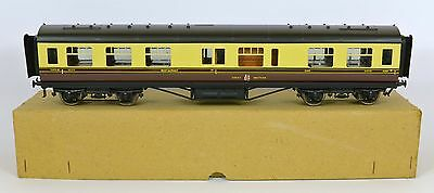EXLEY O GAUGE GREAT WESTERN 1st/3rd CLASS RESTAURANT CAR COACH VERY NEAR MINT