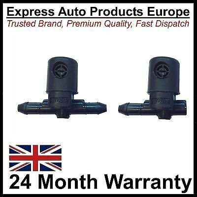 Pair Mist Spray Windscreen Washer Jet Upgrade for Astra G H Corsa D