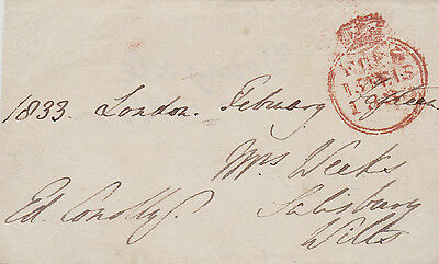 Edward Conolly M.p. **signed Free Front: Irish Politician, Co. Donegal (1833)