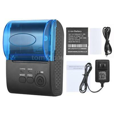 Mini 58mm Bluetooth Receipt Thermal POS Printer for iOS Android Windows R8A8