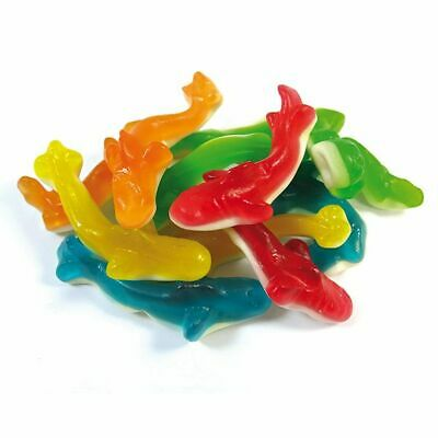 Tuck Shop Fruity Sharks Tub Sweets Box Party Wedding Favours Treats Discount