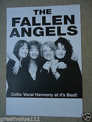 The Fallen  Angels Concert Gig Poster 1991 Unreleased Printers  Poster 25 Years