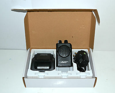 Apollo VP200 pro v2.01  2 channel  UHF 460-470 MHz  stored voice pager & charger
