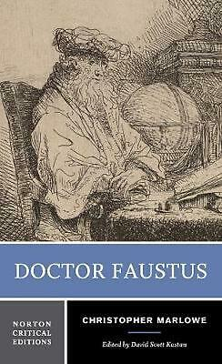 Doctor Faustus by Christopher Marlowe (English) Paperback Book Free Shipping!