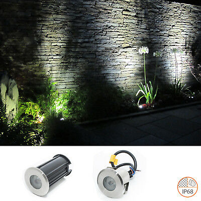 Segnapasso led calpestabile 2w IP68 waterproof incasso pavimento terreno 12v