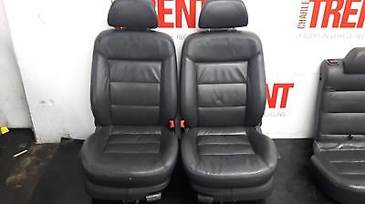 2004 VOLKSWAGEN PASSAT Front & Rear Seats Leather Interior + Door Cards