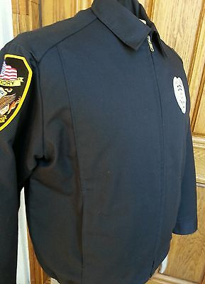 Lion Apparel Hickory Fire Department Jacket  Size M