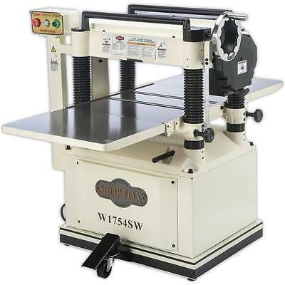 """W1754SW—20"""" Planer with Mobile Base and Spiral Cutterhead - Floor Model"""