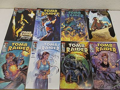 33 Laura Croft Tomb Raider Comics Picture Lot