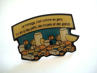 Pins Publicite Fromage