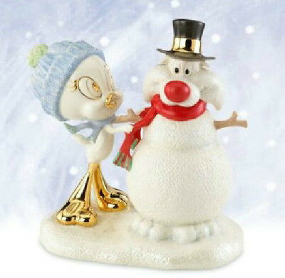 Lenox Looney Tunes TWEETY'S SNOWY SYLVESTER Figurine - New In Box