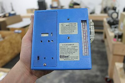 Gilian Hi-Flow Air Sampler Hfs 113A Blue