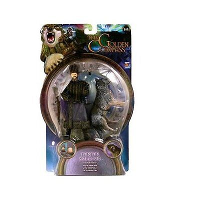 The Golden Compass 4 Inch Action Figure - Tartar Soldier With Wolf Daemon