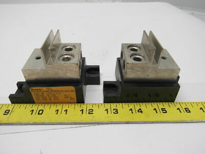 Buss Bussman 1BS102 Modular Stud Fuse Block Holder 400A 1000V Lot of 2