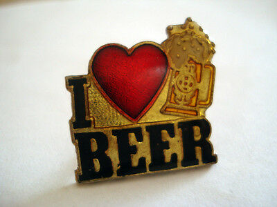 Pins Boisson Humour I Love Beer Biere