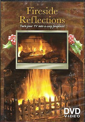 Fireside Reflections DVD for the TV fireplace coziness & look on your television