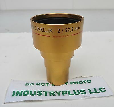Schneider Super CINELUX 2 / 57,5mm f/2 MC 35mm film Cinema/Movie/Projector Lens
