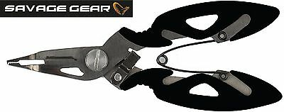 Savage Gear Mini Splitring and Braid Cutter Angelschere, Angelwerkzeug