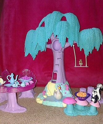 ♡ Barbie Swan Lake Enchanted Forest Playset With Animals And Accessories♡