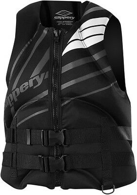 Slippery Surge Neo Vest Black/Charcole Gray/White MD