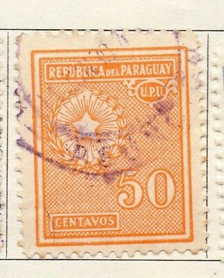 Paraguay 1927-30 Early Issue Fine Used 50c. 125246