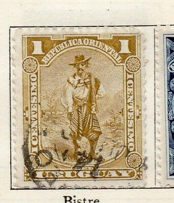 Uruguay 1895 Early Issue Fine Used 1c. 125773