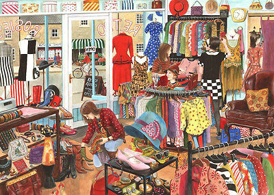 The House Of Puzzles - 1000 PIECE JIGSAW PUZZLE - Retro Rosie's