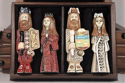 Rinconada Classic RARE -Ceramic Chess Set One Of Only SIX Made Retired!