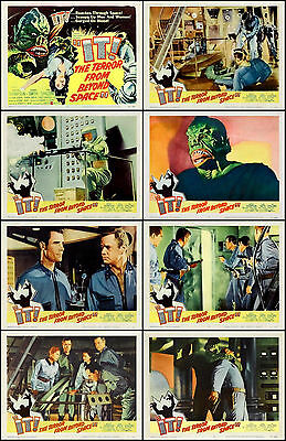 IT, THE TERROR FROM BEYOND SPACE Complete Set Of 8 Indiv 8x10 LC Prints 1968