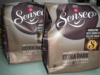 Senseo Douwe Egberts 72 Pods Extra Strong Pads 2 Packs Coffee