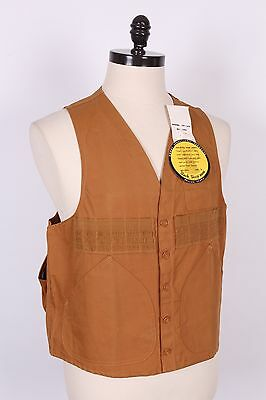 Vtg Black Sheep Duck Hunting Shooting Vest Ds Nwts Mens Large