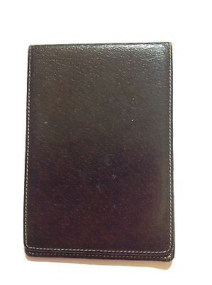 Vintage Gucci Leather Notepad Wallet