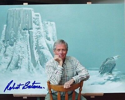 ROBERT BATEMAN Canadian Artist Autographed 8x10 Colour Photo Signed Exact Proof!