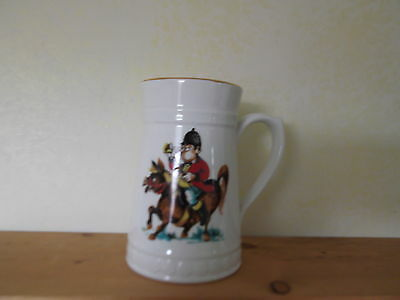 Lord Nelson Jug / Stein - Man on Horse blowing bugle