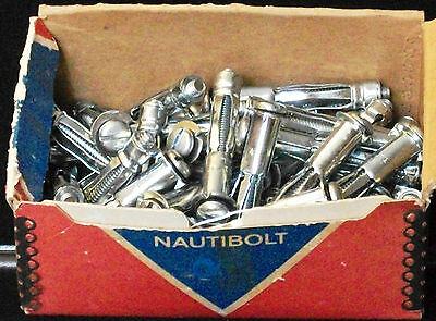 """12 pieces ¼""""L Thundergrip Hollow Wall Thickness up to 1¼"""" Anchors 1 dozen new"""