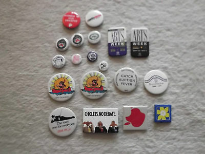Lot of 18 Older Assorted Button Pins