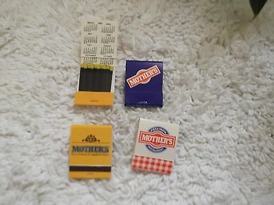 21 Mothers Pizza Parlour and Spaghetti House Matchbook Covers