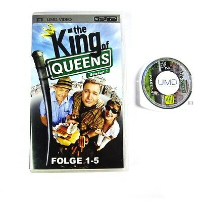 PSP UMD VIDEO : THE KING OF QUEENS (SEASON 1) FOLGE 1-5 in OVP
