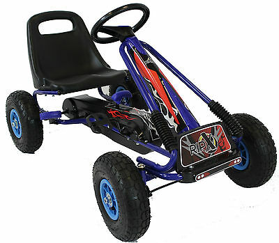 REBOXED RIPX Limited Edition Go Kart Kids Childrens Pedal Ride On Car Racing