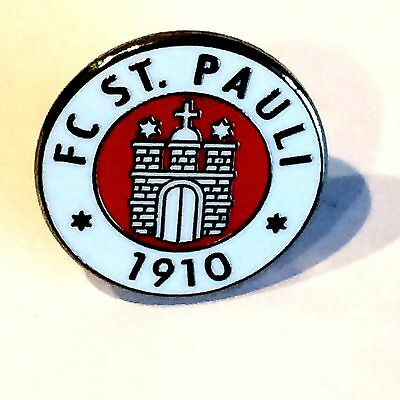 FC St Pauli 1910 pin badge free posting UK.