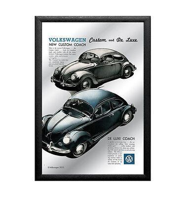 Mirror VW Custom and De Luxe, 20 x 30 cm