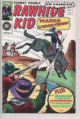 RAWHIDE KID #2 vintage french comic français EDITIONS HERITAGE (1970)