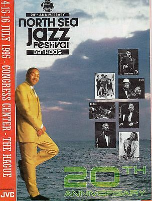 Vintage North Sea Jazz Festival Programme 1995 The Hague Performers Muscians
