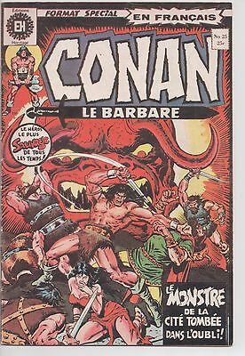 CONAN #25 french comic français EDITIONS HERITAGE