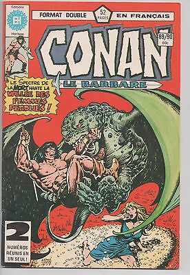 CONAN #89/90 french comic français EDITIONS HERITAGE