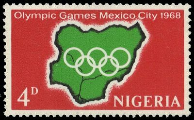 NIGERIA 222 (SG213) - Mexico City Summer Olympic Games (pa86404)
