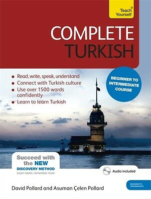 Complete Turkish Beginner to Intermediate Course: (Book and audio support) Lear.