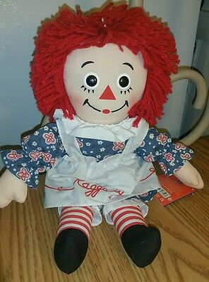 Kohl's Cares Raggedy Ann Plush Stuffed Doll 14 Inches