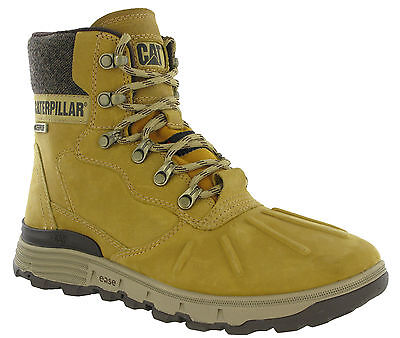 Caterpillar Stiction Ice Waterproof Leather Mens Ankle Boots UK6-12